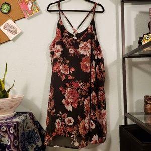 Xhileration Floral Slip Dress 4X